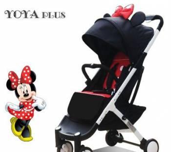 Коляска Yoya Plus 2018 Микки Маус на белой раме, Большое Мурашкино, цена: 6 500р.
