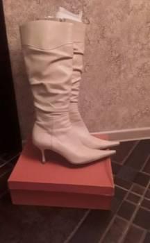 Женские кроссовки reebok classic white рибок классик белые leather, бежевые сапоги из натуральной кожи, Томск, цена: 500р.