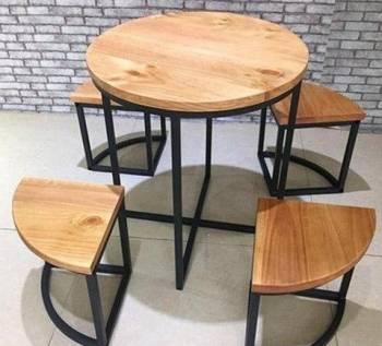 Стол и стулья в стиле лофт от производителя, Кубинка, цена: 19 900р.