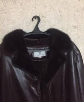 Норка, мужские кожаные куртки для высоких, Азов, цена: 14 500р.