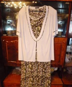 Платье с пиджаком размер 72, вечернее платье польша, Ульяновск, цена: 1 500р.
