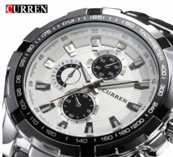 Фирменные мужские часы Curren Chronograph, Тайга, цена: 2 200р.
