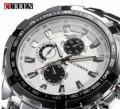 Фирменные мужские часы Curren Chronograph, Тайга