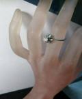 Бриллиант кольцо 0.5ct в белом золоте. обмен, Черняховск