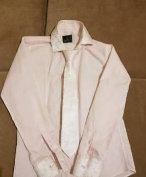 Нарядная мужская сорочка с галстуком, футболка рик и морти dracarys