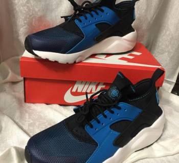 Новые кроссовки Nike Hua Rache синие, баскетбольные кроссовки adidas rose, Коломна, цена: 2 400р.