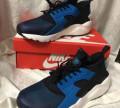 Новые кроссовки Nike Hua Rache синие, баскетбольные кроссовки adidas rose, Коломна