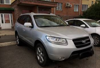 Hyundai Santa Fe, 2008, mercedes е класс 2005 год, Омск, цена: 800 000р.