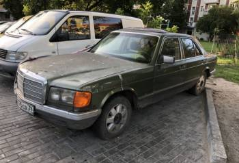 W126 в разбор 3.0 дизель, автозапчасти на ваз 2106 б\/у, Калининград, цена: 126р.