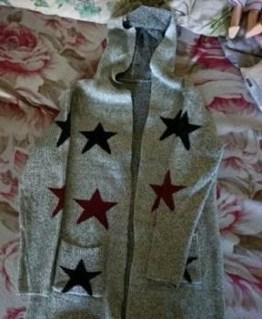 Длинное платье-рубашка зара, кардиган новый, Уфа, цена: 700р.