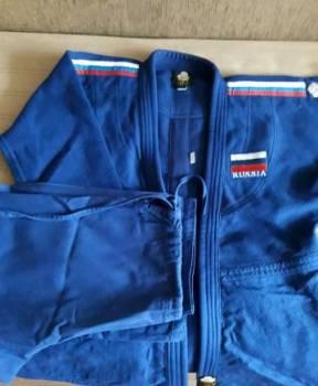 Кимоно для дзюдо рост 160, Рязань, цена: 1 300р.