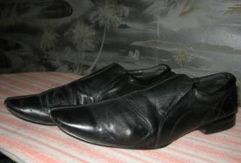 Недорогая кожаная мужская обувь, туфли кожанные, Фокино, цена: 800р.