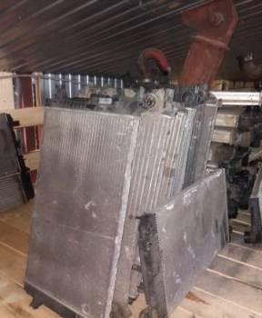 Радиатор охлаждения Мерседес Спринтер 906, подшипник полуоси газ 31105