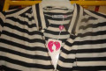 Новая полосатая блузка на размер 48-50, меховые жилеты из натурального меха, Лабинск
