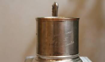 Редкий серебряный подстаканник, Калининград, цена: 14 999р.