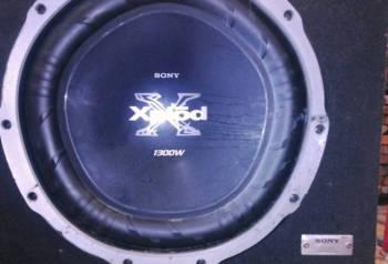 Продам акустику - усилитель + сабвуфер Sony, коврики шкода октавия тур цена, Никель, цена: 17 000р.