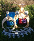 Детский пластиковый комплекс Паровоз, Тверь