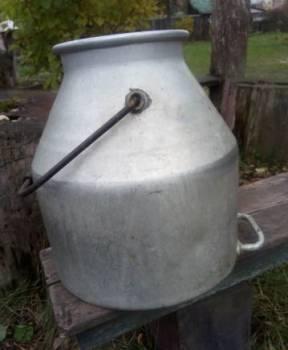 Аллюминевая емкость под молоко, Буй, цена: 1 000р.