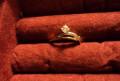 Золотое кольцо с бриллиантом р15 и подвеска, Уфа