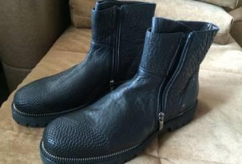 Кожаные кроссовки адидас с torsion, ботинки Cesare Paciotti
