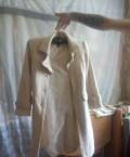 Пальто, спортивный костюм с кружевом по бокам, Ершов