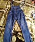 Джинсовый комбинезон Евона новый, платья длинные штапель, Кичменгский Городок