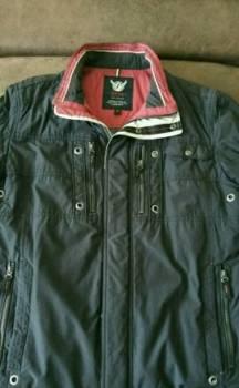 Интернет магазины брендовой одежды по низким ценам, демисезонная мужская куртка, Заринск, цена: 1 500р.