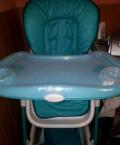 Детский стульчик для кормления, Красный Сулин