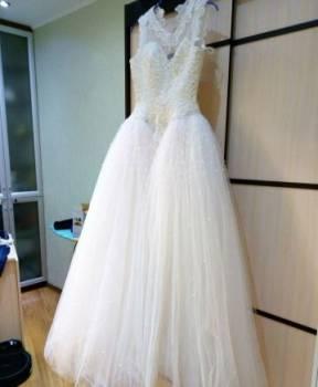 Платье длинные с рукавами летние, свадебное платье, Нягань, цена: 8 200р.