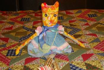 Кошка, кот, покрывало ручной работы, Шексна, цена: 499р.