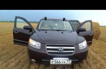 Hyundai Santa Fe, 2007, продажа ниссан скайлайн gtr в россии
