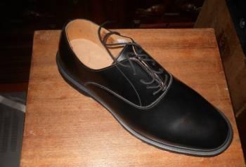 Мужские шлепки из кожи купить, туфли модельные Dr. Martens