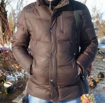 Зимняя куртка, рубашка зара без воротника