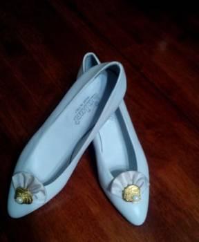 Спортивная обувь salomon, туфли белые, кожа, новые