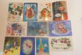 Советские новогодние открытки (чистые), Сергач