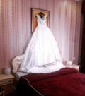 Свадебное платье, фасоны платьев в пол из атласа, Славянск-на-Кубани