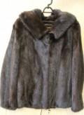 Большая одежда мечта поэта, норковая шуба шоколад с капюшоном, Елово