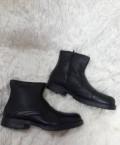 Бутсы найк черные с золотой подошвой, новые зимние мужские ботинки (натур кожа+мех), Урмары