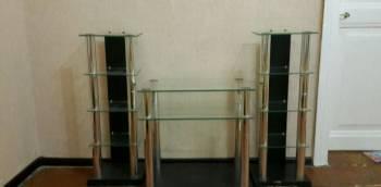 Стеклянная тумба, Вольск, цена: 4 000р.