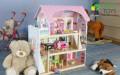 Деревянный домик кукольный с мебелью, Зеленоградск