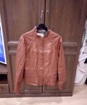 Элитная одежда для дома и сна, куртка кожаная