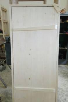 Дверь крестьянская, филенчатая, наборная дерево, рамы, Ижевск, цена: 2 900р.