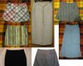 Много юбок, пакет юбок, вместе или по отдельности, платье из гипюра по фигуре черное, Черное