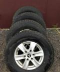 Штатные колеса на уаз патриот, шипованная зимняя резина 265х70хR16 литые диски бу, Любучаны