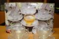 Чайный сервиз, бокалы, салатники. 60е годы, Ожерелье