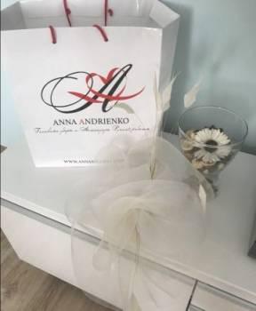Avon платье туника, шляпа на скачки Anna Andrienko свадебная вуалетка