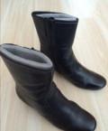 Полусапожки Ecco, купить женские кроссовки на зиму, Братск