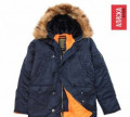 Куртка мужская зимняя N-3B Slim Fit Alpha Ind. 2XL, носки мужские diwari classic, Дружная Горка