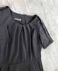 Платье макси с разрезом спереди boohoo, платье для офиса серое s, Москва