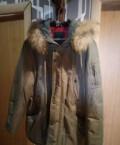 Аляска мужская, зимняя мужская удлиненная куртка с капюшоном, Инта